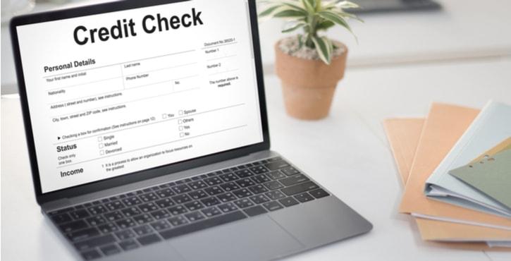 credit check financial banking