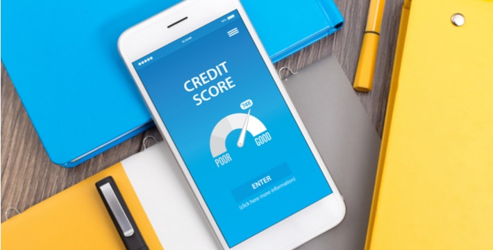 credit score in mobile