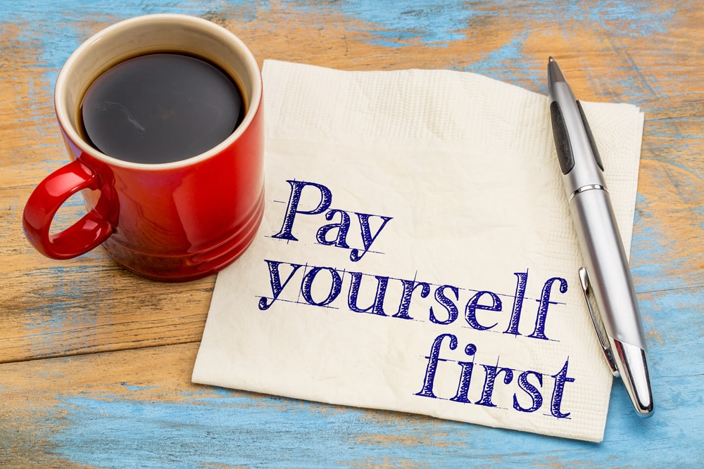 pay yourself first financial advice