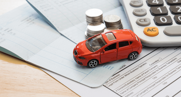 financial calculations for buying car